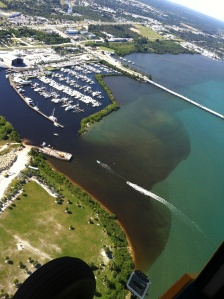 Black water is released into the ILR near Ft Pierce Inlet