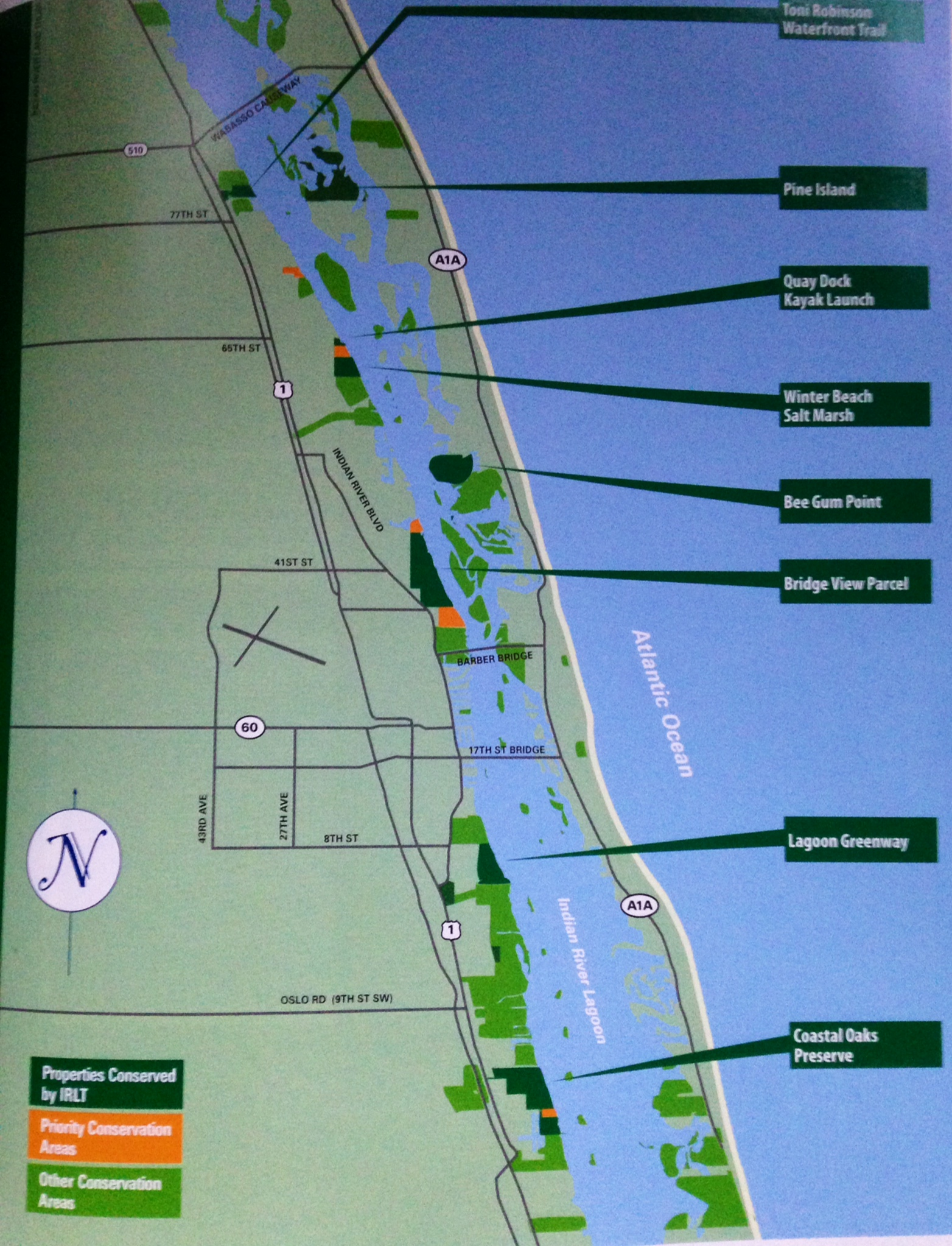The Amazing Work Of The Indian River Land Trust Along The Indian - Indian river lagoon map