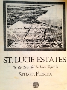 St Lucie Estates, On the Beautiful St Lucie River, Stuart Florida, 1926 booklet. (St Lucie Estates, Inc.)