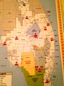 Fascility and Infrastructure Location Map Index, 2014. (Senator Negron's Office)
