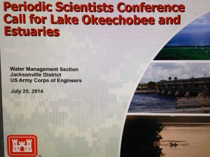 7-25-14 Periodic Scientists Call, ACOE. UNCLASSIFIED.
