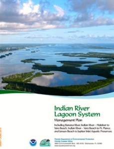 Cover of NOAA/DEP Indian river Lagoon System Management Plan, 2014.