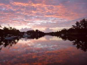 Sunrise/Sunset photos St Lucie River/Indian River Lagoon. Beautiful.(Photos by John Whiticar.)