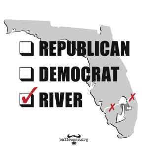 The St Lucie River/Indian River Lagoon doesn't belong to a political party; it belongs to all of us.