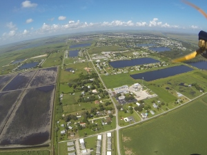 Approaching Clewiston from the east.
