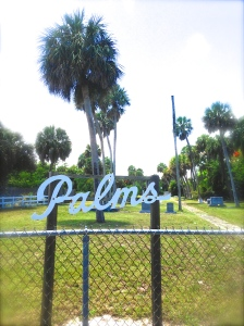 Entrance to Palms Cemetery, Indian River Drive.