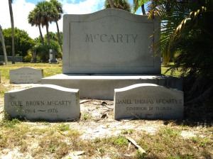 Family plot McCarty.