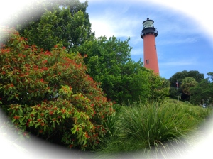 The Jupiter lighthouse, built in 1860 and still looking beautiful.