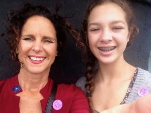 Hannah and I at Jupiter Lighthouse.