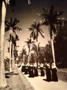 The nuns of Mount Elizabeth, St Joseph's College, 1964. (Photo Aurthur Ruhnke, Thurlow Historic Archives.)