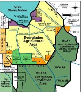 EAA. SFWMD map.