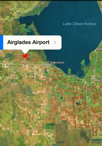 Location of Airglades Airport, Google Maps, 2014.