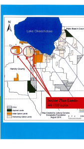 Sector Plan lands, 44,000 acres.