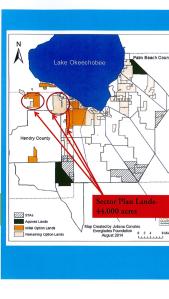 Sector Plan lands, 44,000 acres.