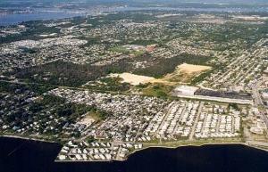 Recent aerial photo. (Internet)
