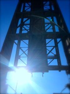 Railroad Bridge, Stuart Florida. (Photo JTL)