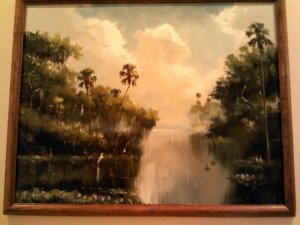 Highwaymen painting shared by Ann Benedetti,. This is shy Alfred Hair, the founder of the Highwaymen.