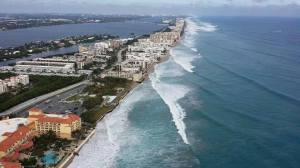 This photo that I found pn Nyla Pipes Facebook page. The view of ocean action along the Atlantic Coast is very telling....