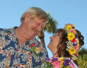 Indian Riverkeeper, Marty Baum and River Warrior, Robin Pittman were wed December 20th, 2014, at Jensen Beach Christian Church, in Jensen, along the Indian River Lagoon.