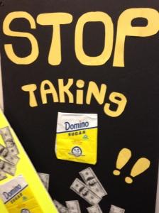 Stop Taking...