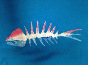 Patriotic solidarity fish!