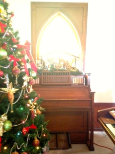 Organ also from Mr Henry Flagler.