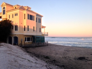Former Wentworth house, Bathtub Beach, 2014.