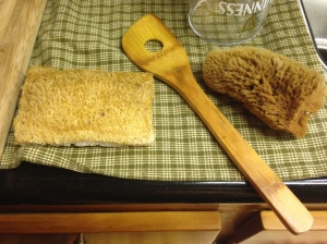 Sponges in my kitchen....