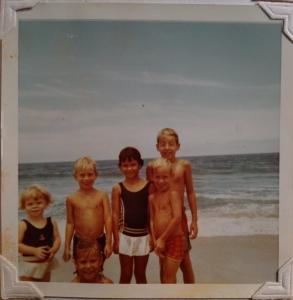 Local kids, Jupiter Island, ca. 1968