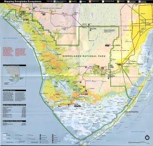 Everglades map.