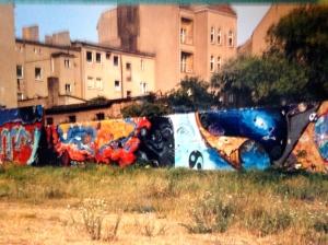 Berlin Wall, 1990. (JTL)