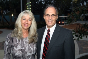 Mark and hi swift Nancy at FOS 50th anniversary. (Photo from event.)