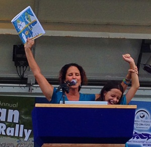 Clean Water Rally, 2014. (Photo