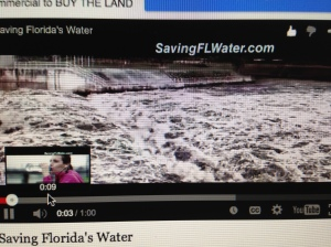 Commercial for Saving Florida's Waters, purchase the US Sugar option lands. (2-22-15.)