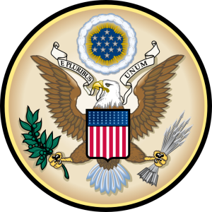 Great Seal of the Untied States.