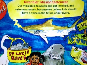 River Kidz' mission statement. (Artwork by Julia Kelly, 2012.)