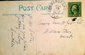 Back of postcard reads 1912.