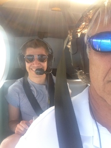 My husband Ed flied with nephew, Ben, during the month of May over the SLR/IRL.