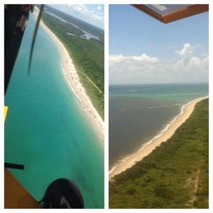 Comparison 2015 and 2013 Atlantic shoreline with nearshore reefs, Jupiter Island south of St Lucie Inlet. (JTL)