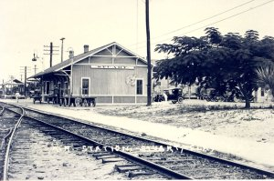 Stuart Train Depot, photo courtesy of Historical Society of Martin County, Elliott Museum via Sandra Thurlow.
