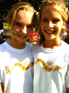 River Kidz founders Evie Flaugh and Naia Mader, 2011.