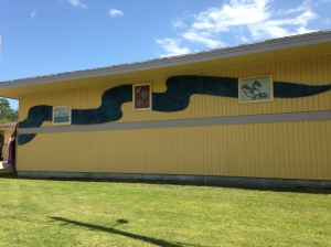Brevard Museum with Indian River Lagoon timeline. (JTL)