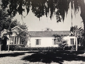 Margaret and Louis Dommerich's Sewall's Point home. (Aurthur Ruhnke via Sandra Henderson Thurlow.)