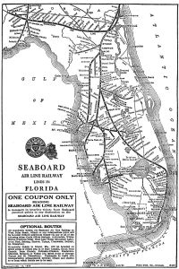 Sea Board Air Lines map 1920s. (Public)