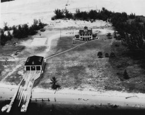 Lake Worth USCG Station 1951. National Archives.