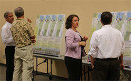 Dr. Gretchen Ehlinger, (second from right), U.S. Army Corps of Engineers environmental lead for CEPP,