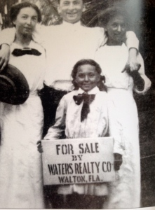 The Waters family promoting St Lucie Gardens 1910. (Photo Reginald Waters Rice) from Jensen and Eden by Sandra Henderson Thurlow.