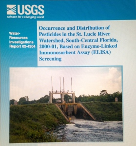 Cover of USGS/DEP Report