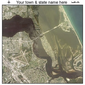 Map. Sewall's Point is the peninsula. Inlet is to east. (Google maps)