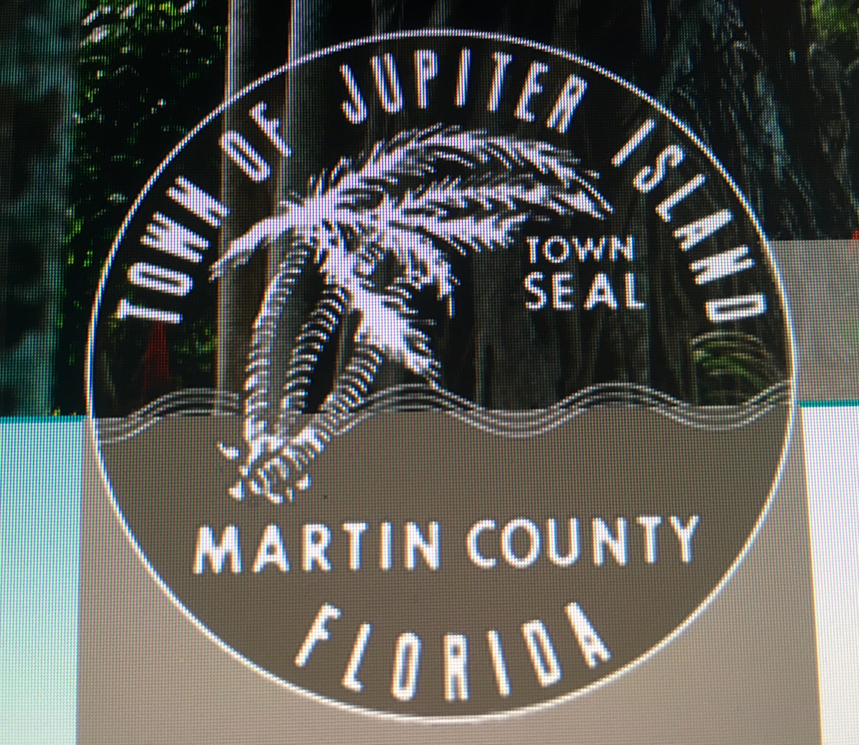 Image result for town seal jupiter island florida